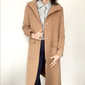 💥 SALE 💥 Burberry wool blend hooded coat